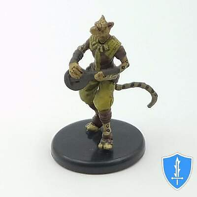 Tabaxi Minstrel - Tomb of Annihilation #21a D&D Miniature