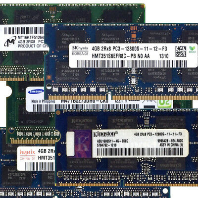 Samsung Hynix 1.5V RAM SO DIMM DDR3 PC3 4GB 8GB 12800S 204Pin 1600Mhz Laptop