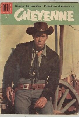 Four Color #734 1956 VG- Cheyenne - Clint Walker photo cover 1st Issue