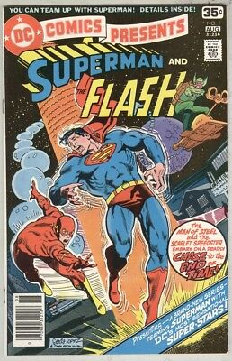 DC Comics Presents #1 FN August 1978 First issue, Superman and Flash