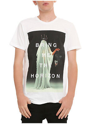 Mens Bring Me The Horizon Cloaked Shirt New M, L