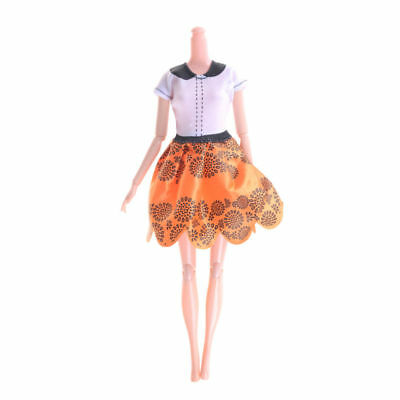 """for 11"""" 30cm Barbie Doll Dress Clothes 5pcs/kit Mixed style Gown Party Fashion"""