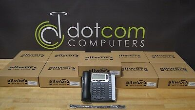 Allworx Lot of 10x 9212L Backlit VoIP Display IP Phone POE New In Box