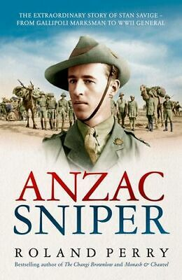 NEW Anzac Sniper By Roland Perry Paperback Free Shipping