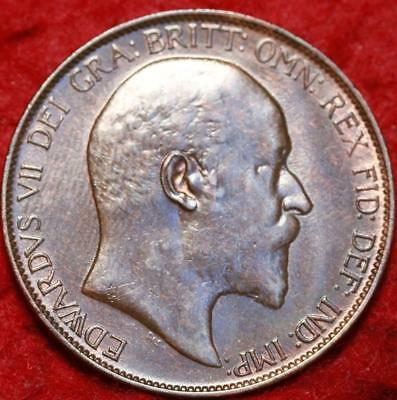 1906 Great Britain 1/2 Penny Foreign Coin