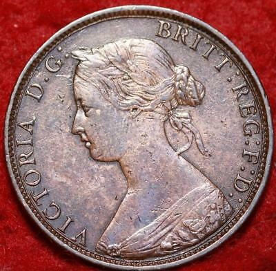 1862 Great Britain 1/2 Penny Foreign Coin