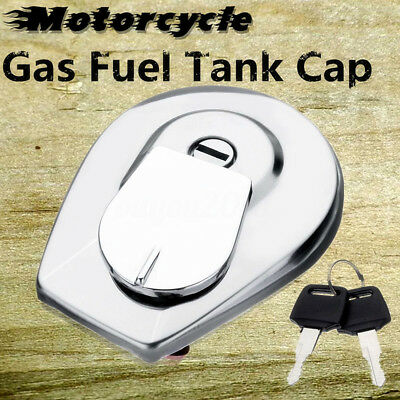 Motorcycle Gas Fuel Tank Cap For Honda VT500C VT700C VT750C VT800C Shadow Ascot