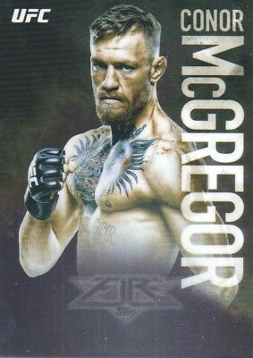 2017 Topps Chrome UFC Mma Fire # Uf-Cm Conor Mcgregor