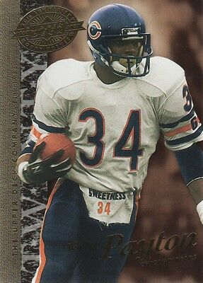 2008 Upper Deck 20th Anniversary #UD-24 Walter Payton Chicago Bears