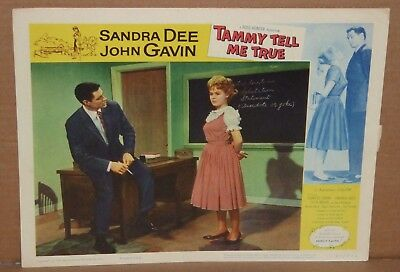 8 different Sandra Dee John Gavin Tammy Tell Me True Lobby Cards 1-8 card