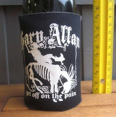 GARY ALLAN koozie Get Off on the Pain beer huggie 2010 country bottle holder