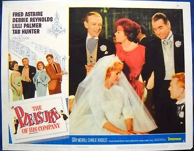 THE PLEASURE OF HIS COMPANY LC #6 Fred Astaire Debbie Reynolds Tab Hunter 1961