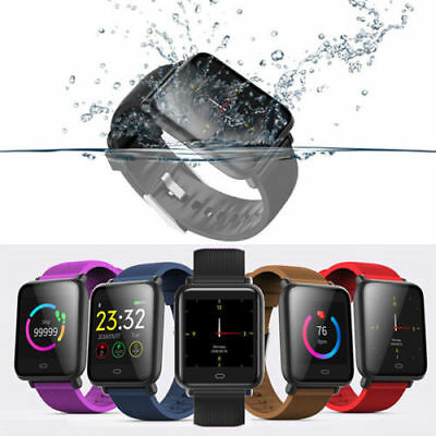 Q9 Colorful Screen Waterproof Sports Smart Watch Band Heart Rate for Android/iOS
