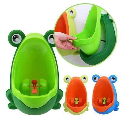 Fun Frog Potty Seat Training Toddler Children Kid Infant Bathroom Urinal Toilet