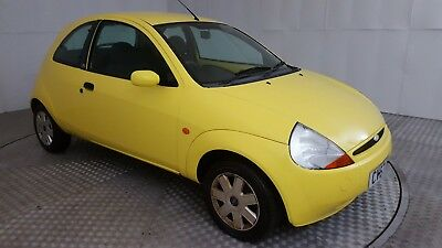 2007 Ford Ka Style Climate Yellow 1.3 Petrol 5 Speed Manual Hatchback
