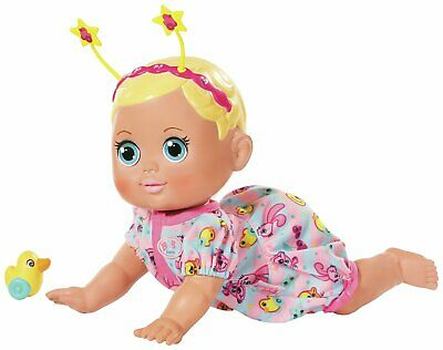 Baby Born 23cm Funny Faces Crawling Baby Doll 12+ Months