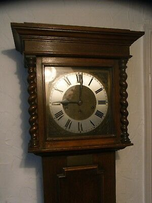 Country Cottage 1920s/30s Edwardian Grandfather Clock / Westminster / Longcase