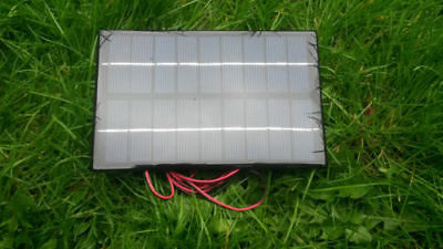 3W Bait Boat Solar Panel Charger,tamiya Connector, 6V & 7.2V Baitboat Battery