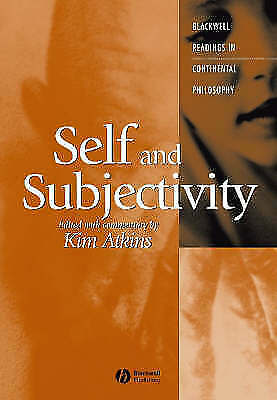 Self and Subjectivity by John Wiley and Sons Ltd (Paperback, 2004)