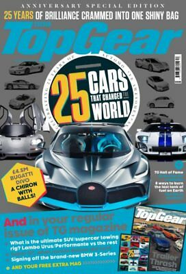Top Gear Magazine October 2018 (25 Cars That Changed The World + Extra Mag) New