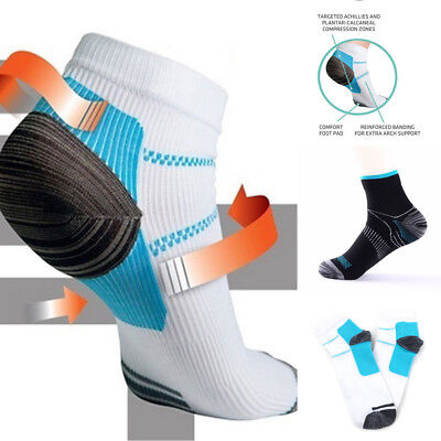 Womens Mens Plantar Fasciitis Arch Pain Relief Support Ankle Compression Socks