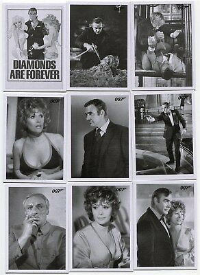 2016 James Bond Archives Spectre Edit 48 card Diamonds Are Forever Throwback Set