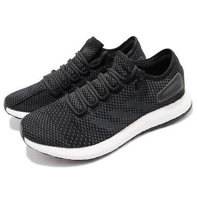 cheap for discount 3d2cb 72d9b adidas PureBOOST Clima Black Grey Men Running Casual Shoes Sneakers BY8899