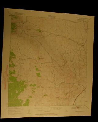 Cross Mountain California 1959 vintage USGS Topographical chart map
