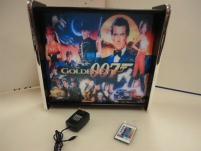 Goldeneye 007 Pinball Head LED Display light box