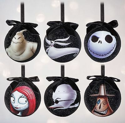 Nightmare Before Christmas Baubles Decorations NEW Disney Jack Oogie REDUCED