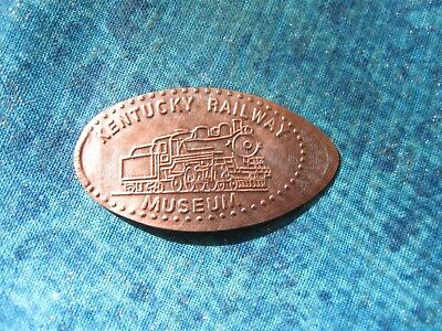 KENTUCKY RAILWAY MUSEUM TRAIN Elongated Penny Pressed Smashed 29