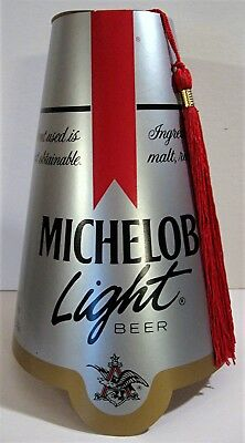 1987 Michelob Light Beer Shriners Fez Hat W/ Tassle Old Beer Distributor Stock