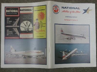 """Brochure/magazine""""national:airline Of The Stars"""" By George W. Cearley"""