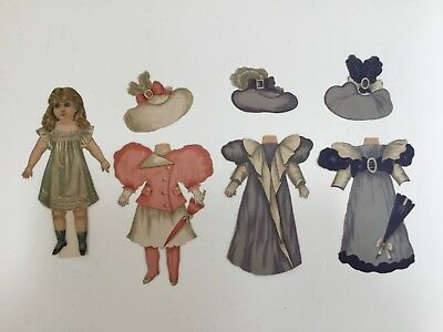 Antique Raphael Tuck 1894 Paper Doll Artistic Series 105