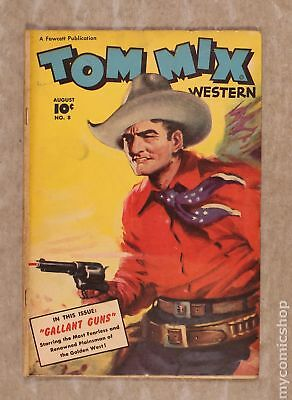 Tom Mix Western (Fawcett) #8 1948 GD/VG 3.0