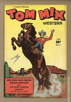 Tom Mix Western (Fawcett) #6 1948 VG+ 4.5