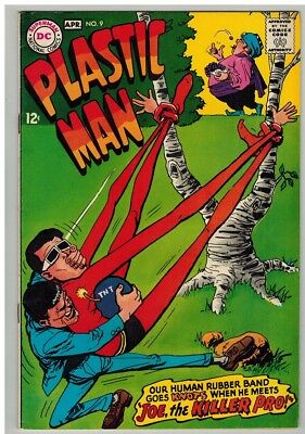 PLASTIC MAN 9 VF March-April 1968