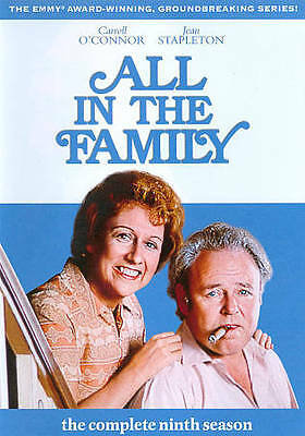 ALL in THE FAMILY - The Complete Ninth Season  2011, 3-Disc Set BRAND NEW DVD''s