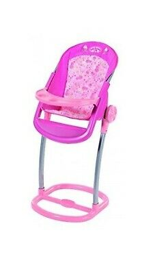 Zapf Creation Baby Annabell Modern Highchair - Pink