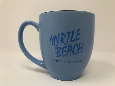 Myrtle Beach South Carolina Blue M Ware Coffee Mug Tea Souvenir Collectible