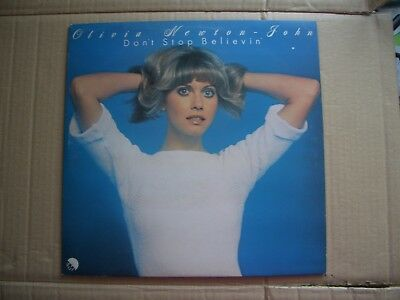 Olivia Newton-John - Don't Stop Believin' - Vinyl Lp With A Printed Inner - Onj
