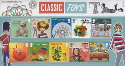 GB 2017 CLASSIC TOYS PRESENTATION PACK No 545 SG 3989 3998 MINT SET SEE # 545