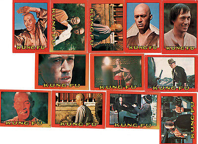 A&BC England GUM Trade Cards KUNG-FU 1974 EXC LOT smaller than Topps & Scanlens