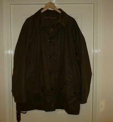 """BARBOUR BREATHABLES A2200 WEATHER WORKED BEAUFORT WATERPROOF JACKET XXL 56"""" Ch"""