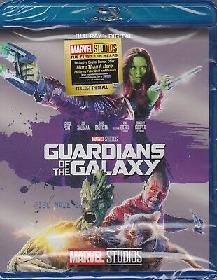Guardians of the Galaxy (Blu-ray Disc + Digital copy, 2017) NEW!