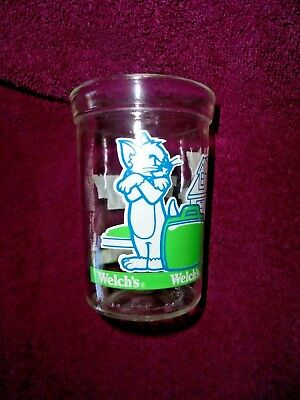 Tom & Jerry The Movie Luggage Suit Case Welch's Jelly Glass 1993 Cartoon