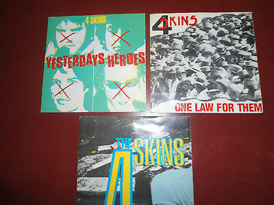 """The 4 Skins One Law for them, Yesterdays Heroes, Low Life 7"""""""