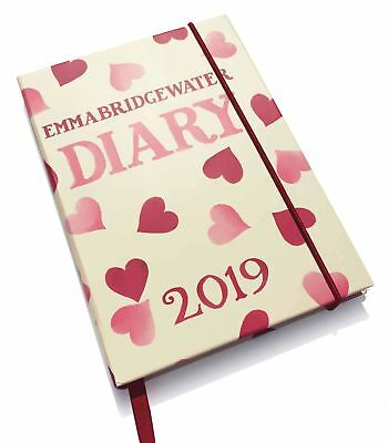 Emma Bridgewater Hearts Official 2019 A6 Diary