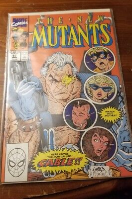The New Mutants #87 (Mar 1990, Marvel) 9.3NM imo