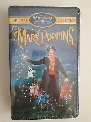 VHS Walt Disney Mary Poppins Special Collection Meisterwerke ovp in Folie